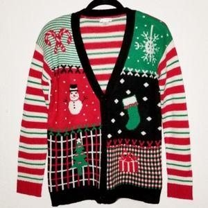 Christmas Cardigan | Ugly Christmas Sweater